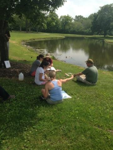 Day 2 Visit to Panfish Pond
