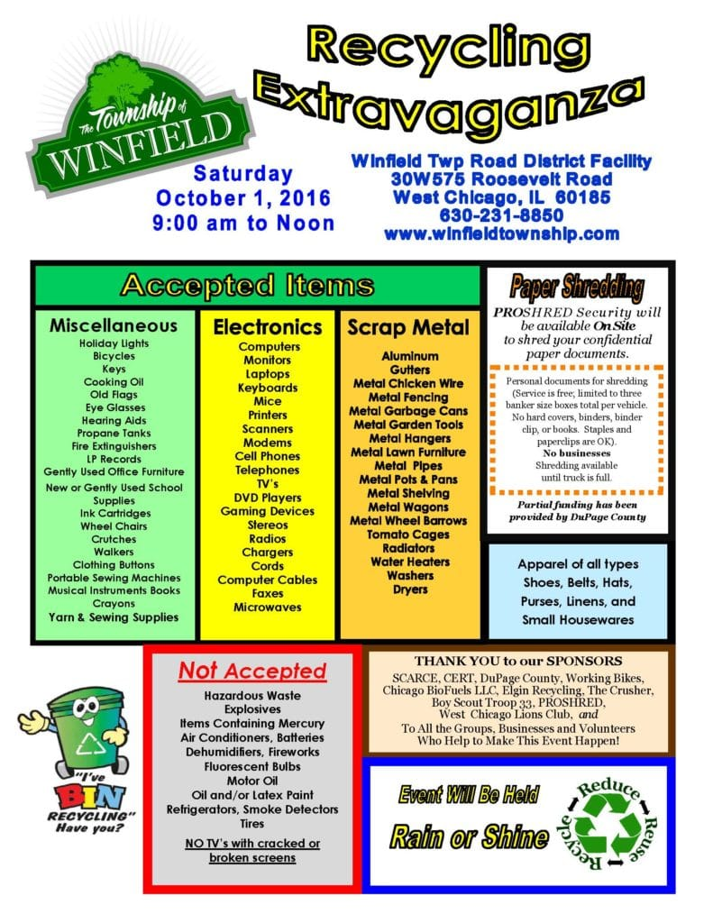 Winfield-Township-Recycling-Flyer-English-2016