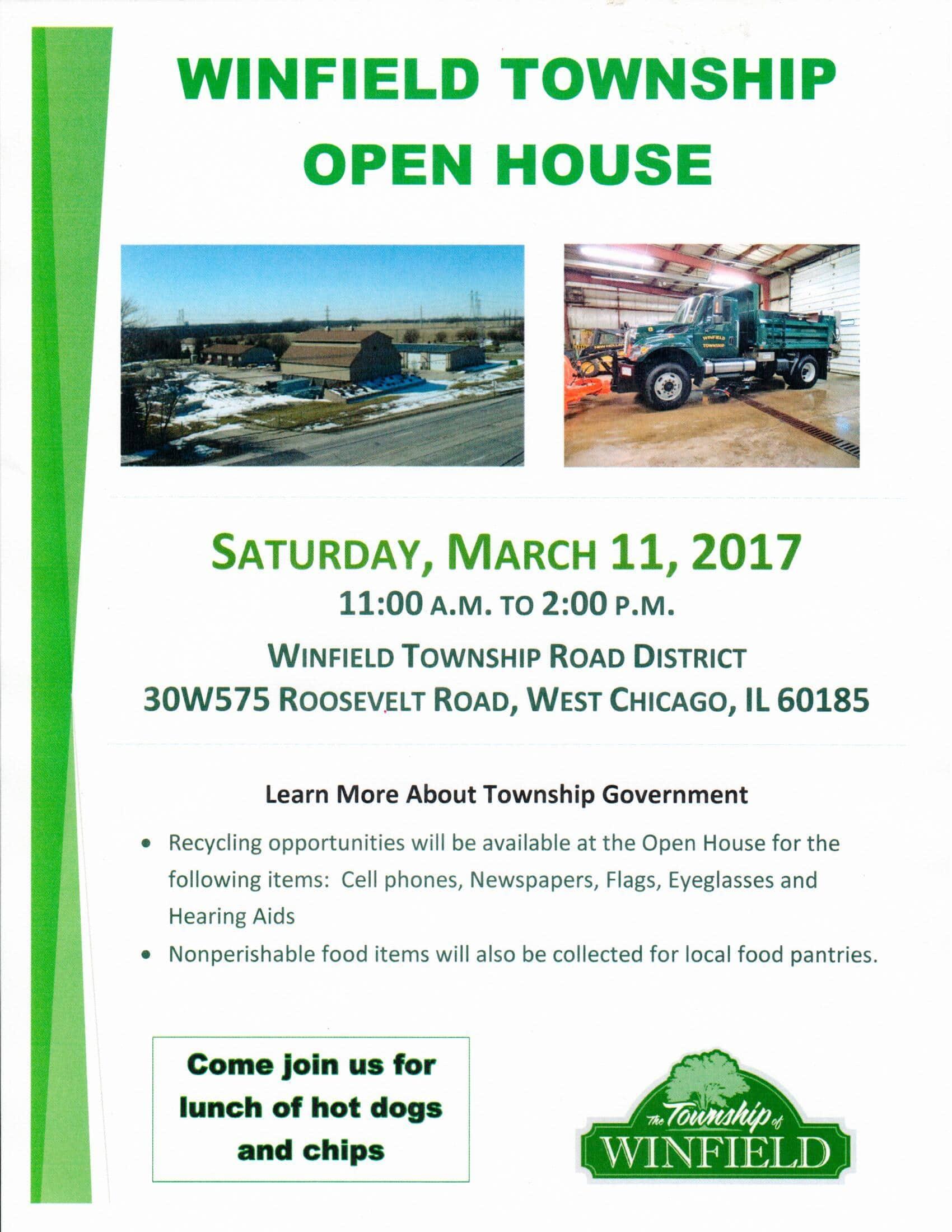 Winfield Township Open House SCARCE