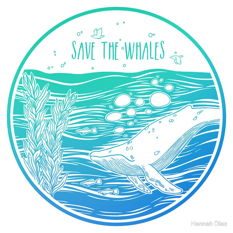 save the whales Cover your body with amazing save the whales t-shirts from zazzle search for your new favorite shirt from thousands of great designs.