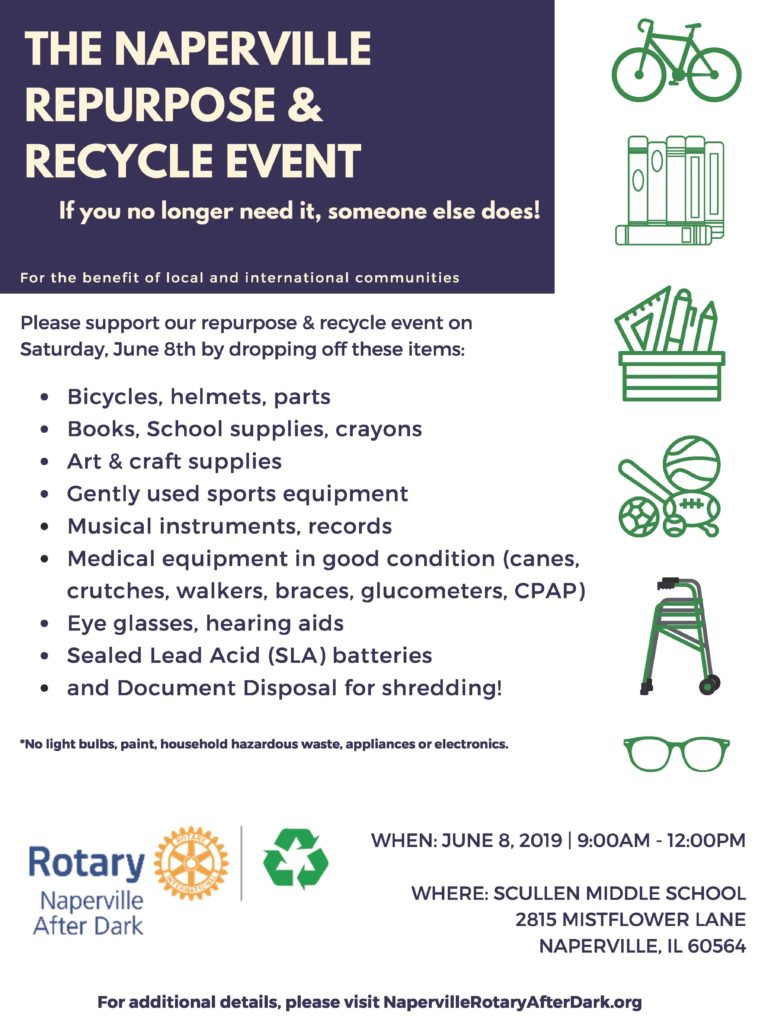 Naperville Recycling Extravaganza - SCARCE