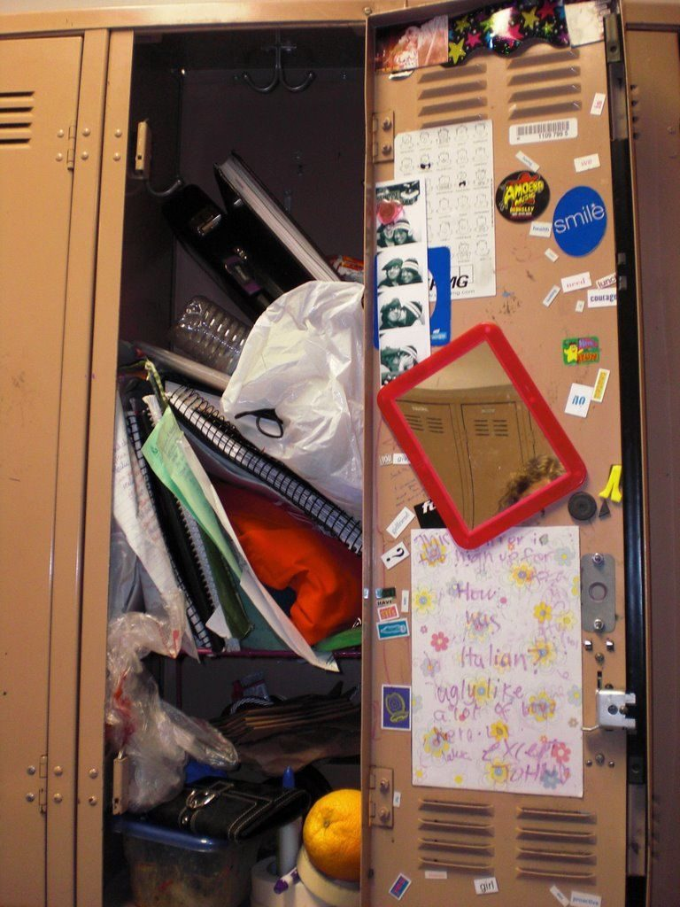 Image result for school locker cleanout