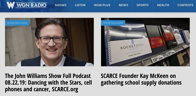 John Williams, WGN, Interviews Kay - SCARCE