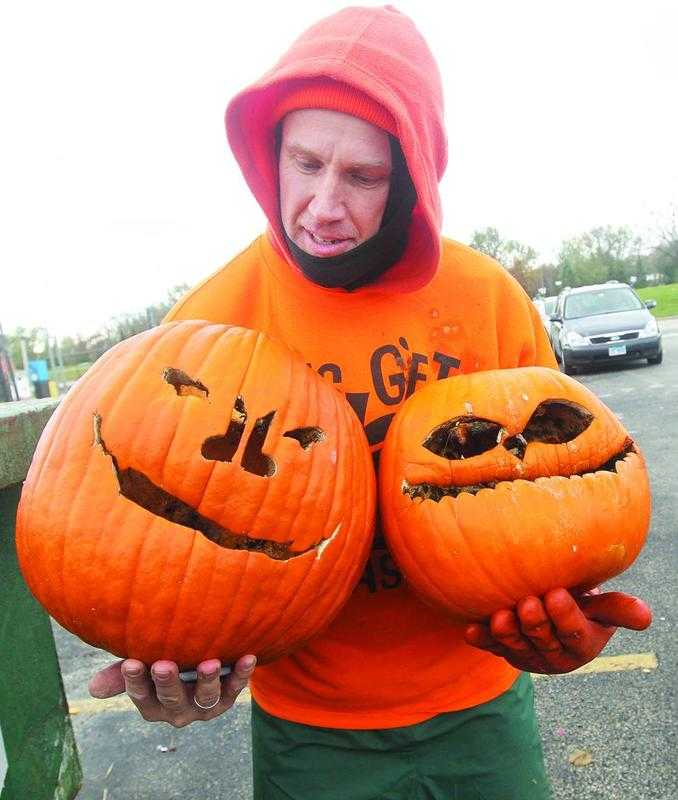 Pumpkin Smashes Keep Gourds Out of Landfills